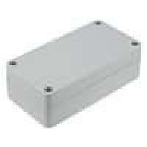 Krabička univerzální 1554 X:90mm Y:120mm Z:60mm ABS šedá