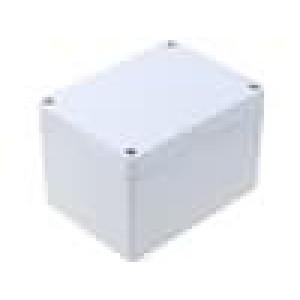 Krabička univerzální 1554 X:90mm Y:120mm Z:80mm ABS šedá