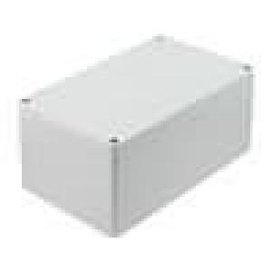 Krabička univerzální 1554 X:120mm Y:180mm Z:90mm ABS šedá