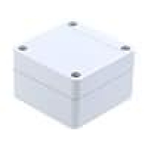 Krabička univerzální 1555 X:65mm Y:65mm Z:40mm ABS šedá IP66