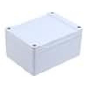 Krabička univerzální 1555 X:90mm Y:120mm Z:60mm ABS šedá IP66