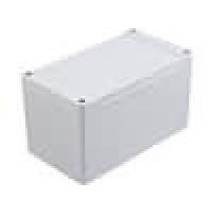 Krabička univerzální 1555 X:90mm Y:160mm Z:90mm ABS šedá IP66