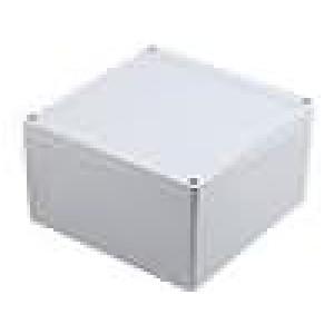 Krabička univerzální 1555 X:160mm Y:160mm Z:90mm ABS šedá IP66