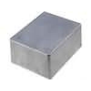 Krabička univerzální 1590 X:94mm Y:120mm Z:53mm hliník šedá IP54