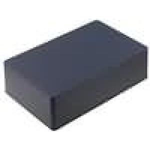 Krabička univerzální 1590 X:120mm Y:188mm Z:56mm hliník černá