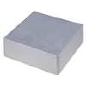 Krabička univerzální 1590 X:188mm Y:188mm Z:67mm hliník šedá