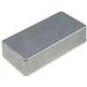 Krabička univerzální 1590 X:50mm Y:100mm Z:21mm hliník šedá IP54