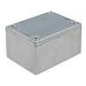 Krabička univerzální 1590 X:38mm Y:52mm Z:27mm hliník šedá IP54