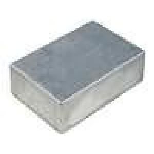 Krabička univerzální 1590 X:120mm Y:120mm Z:55mm hliník šedá