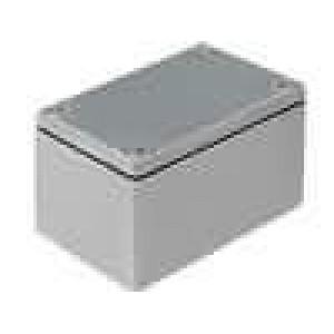Krabička univerzální 1590 X:38mm Y:52mm Z:27mm hliník šedá IP65
