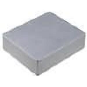 Krabička univerzální 1590 X:121mm Y:145mm Z:35mm hliník šedá