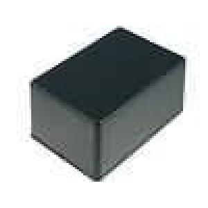 Krabička univerzální 1591 X:80mm Y:120mm Z:59mm ABS černá IP54