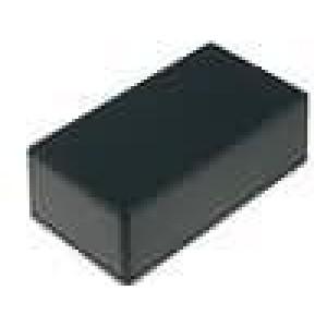 Krabička univerzální 1591 X:66mm Y:121mm Z:40mm ABS černá IP54