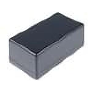 Krabička univerzální 1594 X:66mm Y:131mm Z:55mm ABS černá IP54