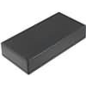Krabička univerzální 1599 X:110mm Y:220mm Z:44mm ABS černá IP54