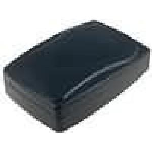 Krabička univerzální X:96mm Y:136mm Z:39mm ABS černá