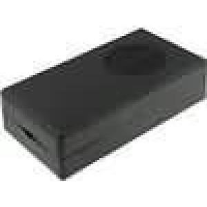 Krabička univerzální X:74,5mm Y:129mm Z:35mm ABS černá