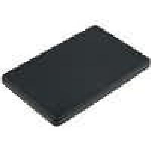 Krabička univerzální X:54mm Y:85mm Z:6mm ABS černá