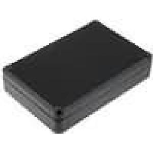 Krabička univerzální X:80mm Y:120mm Z:27,5mm ABS černá