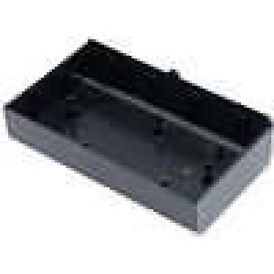 Krabička univerzální X:70mm Y:123mm Z:25,5mm ABS černá