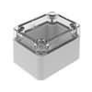 Krabička univerzální EURONORD X:50mm Y:65mm Z:45mm polykarbonát