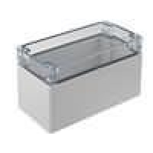 Krabička univerzální EURONORD X:80mm Y:160mm Z:95mm polykarbonát