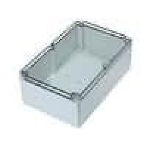 Krabička univerzální EURONORD X:160mm Y:250mm Z:90mm šedá IK08