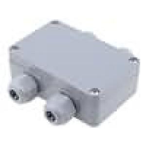 Krabička univerzální X:64mm Y:98mm Z:34mm polyamid šedá