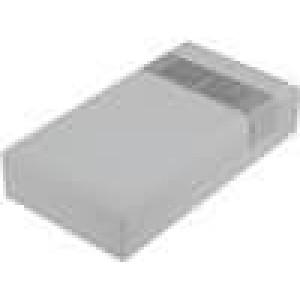 Krabička univerzální větraná X:67mm Y:125mm Z:30mm ABS šedá