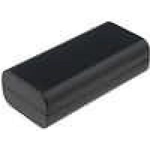 Krabička univerzální X:40mm Y:84mm Z:24mm ABS černá