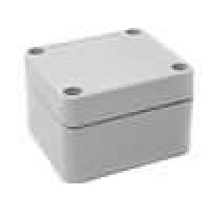 Krabička univerzální X:60mm Y:65mm Z:40mm ABS šedá