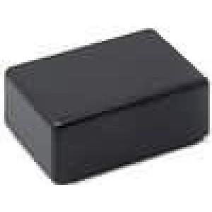 Krabička univerzální X:33mm Y:23mm Z:16mm ABS černá