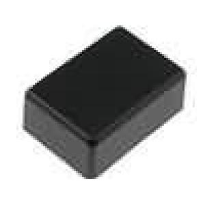 Krabička univerzální X:27mm Y:39,5mm Z:18mm ABS černá