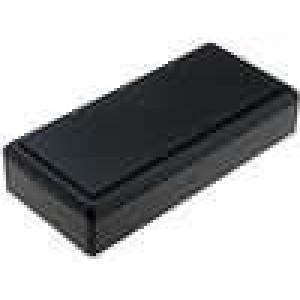 Krabička univerzální X:61mm Y:131mm Z:28mm ABS černá
