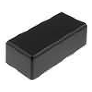 Krabička univerzální X:54mm Y:121mm Z:42mm ABS černá