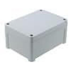 Krabička univerzální TEMPO X:95mm Y:130mm Z:65mm ABS šedá IP65