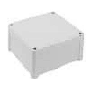 Krabička univerzální TEMPO X:130mm Y:130mm Z:65mm ABS šedá IP65