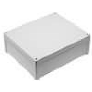 Krabička univerzální TEMPO X:289mm Y:344mm Z:117mm ABS šedá IP65