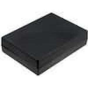 Krabička univerzální X:139,5mm Y:190mm Z:47mm polystyrén černá