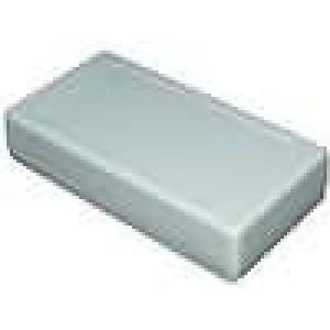Krabička univerzální X:68mm Y:129mm Z:28mm polystyrén šedá