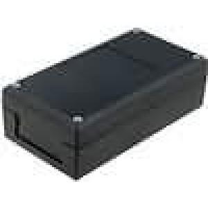 Krabička univerzální X:66mm Y:124,8mm Z:41mm polystyrén černá