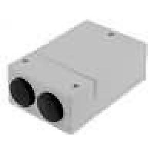 Krabička univerzální X:80mm Y:120mm Z:42,5mm ABS šedá