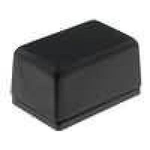 Krabička univerzální X:17,4mm Y:26,6mm Z:14,5mm polystyrén černá