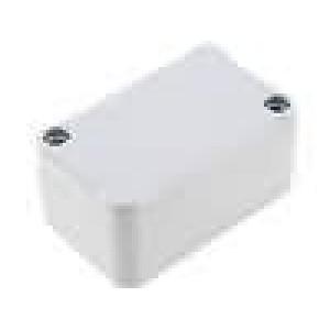 Krabička univerzální X:40mm Y:64mm Z:30,3mm polystyrén šedá