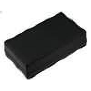 Krabička univerzální X:101,5mm Y:178,5mm Z:49mm polystyrén černá