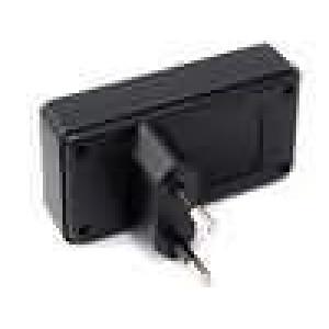Kryt pro napájecí zdroj X:78,5mm Y:40mm Z:21mm ABS černá