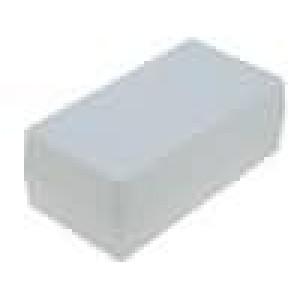 Krabička univerzální X:55mm Y:106mm Z:40mm polystyrén šedá