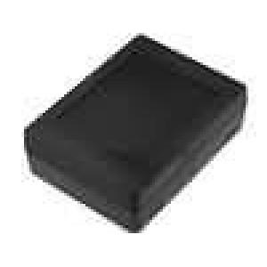 Krabička univerzální X:89,5mm Y:119mm Z:38mm polystyrén černá