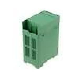 Kryt na přípojnici DIN X:45mm Y:75mm Z:104,5mm polyamid