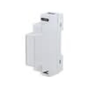 Kryt na přípojnici DIN X:17,5mm Y:90mm Z:64,9mm ABS šedá